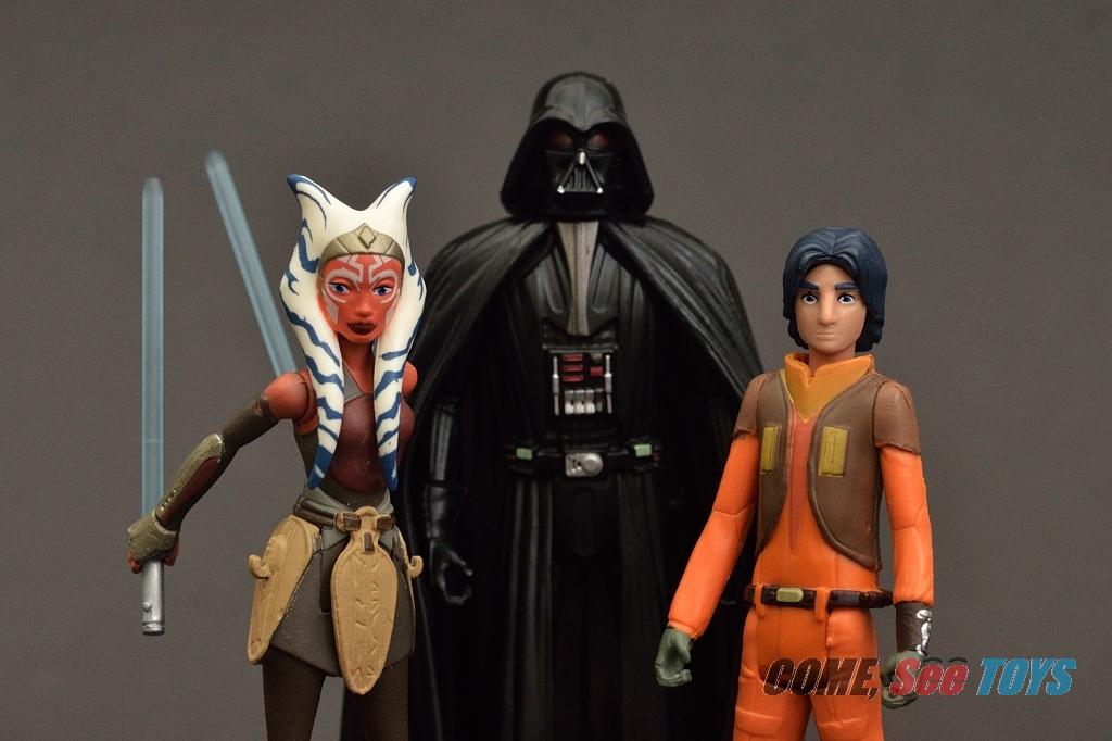 Come See Toys Star Wars Rebels Darth Vader Ahsoka Tano