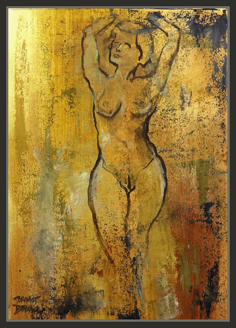 PINTURA-MUJERES-MODELO-VENUS-WOMAN-ARTWORK-MODEL-PINTOR-ERNEST DESCALS-