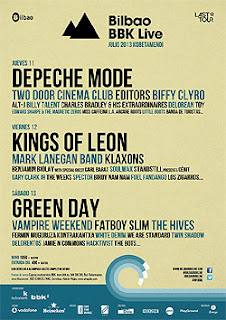 cartel del Bilbao BBK Live Festival
