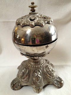 Antique Silver Desk Bell
