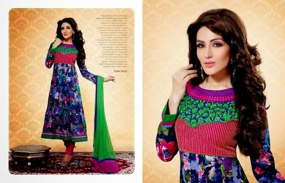 embroidered latest anarkali dresses