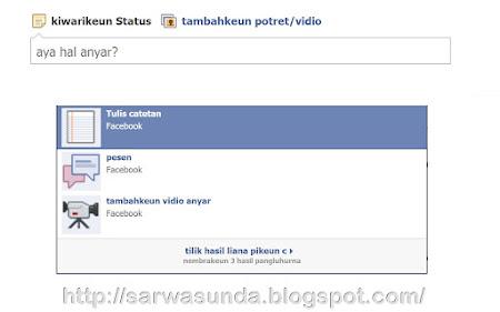 pidangan Facebook Sunda