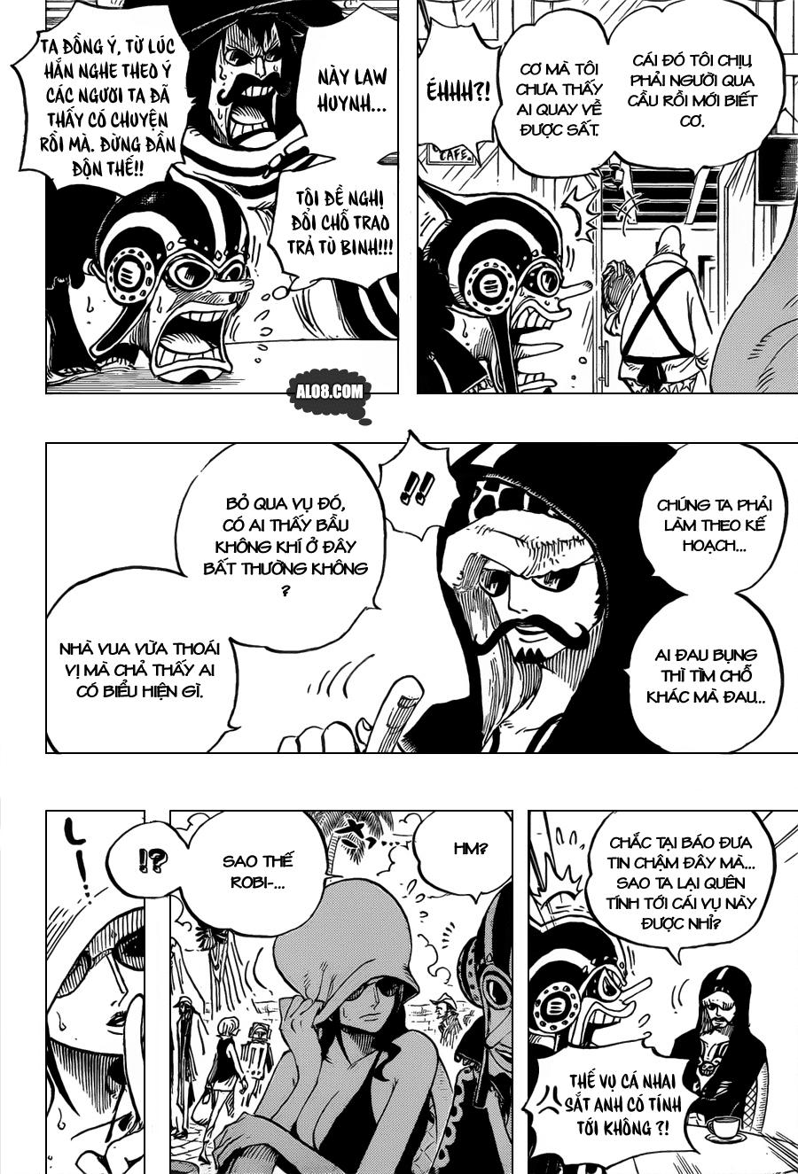 One Piece Chapter 705: Maynard Kẻ săn đuổi 010