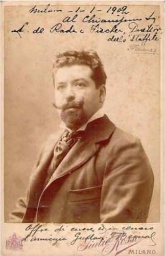 MEXICAN BARITONE GUSTAVO DE BERNAL RESKY (1875 - 1918) CD