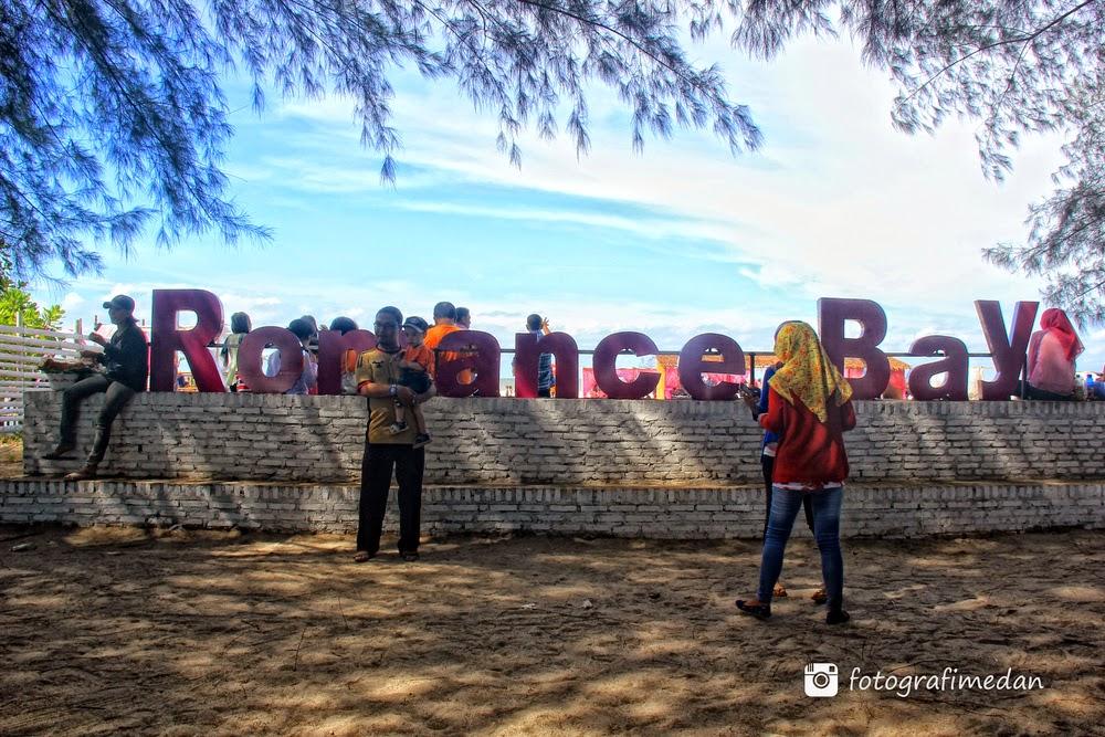 wisata pantai romantis medan sergai sumatera utara