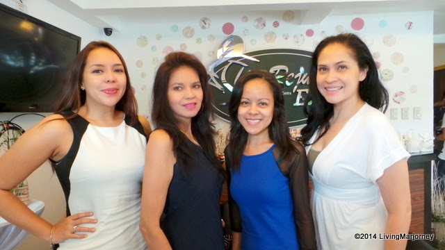 ... birthday celebrant Ms. Isabel Lopez, & Joyce Ann Burton (most right