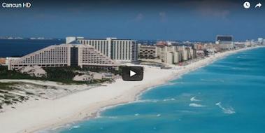 Bellas imágenes de Cancún (vídeo)