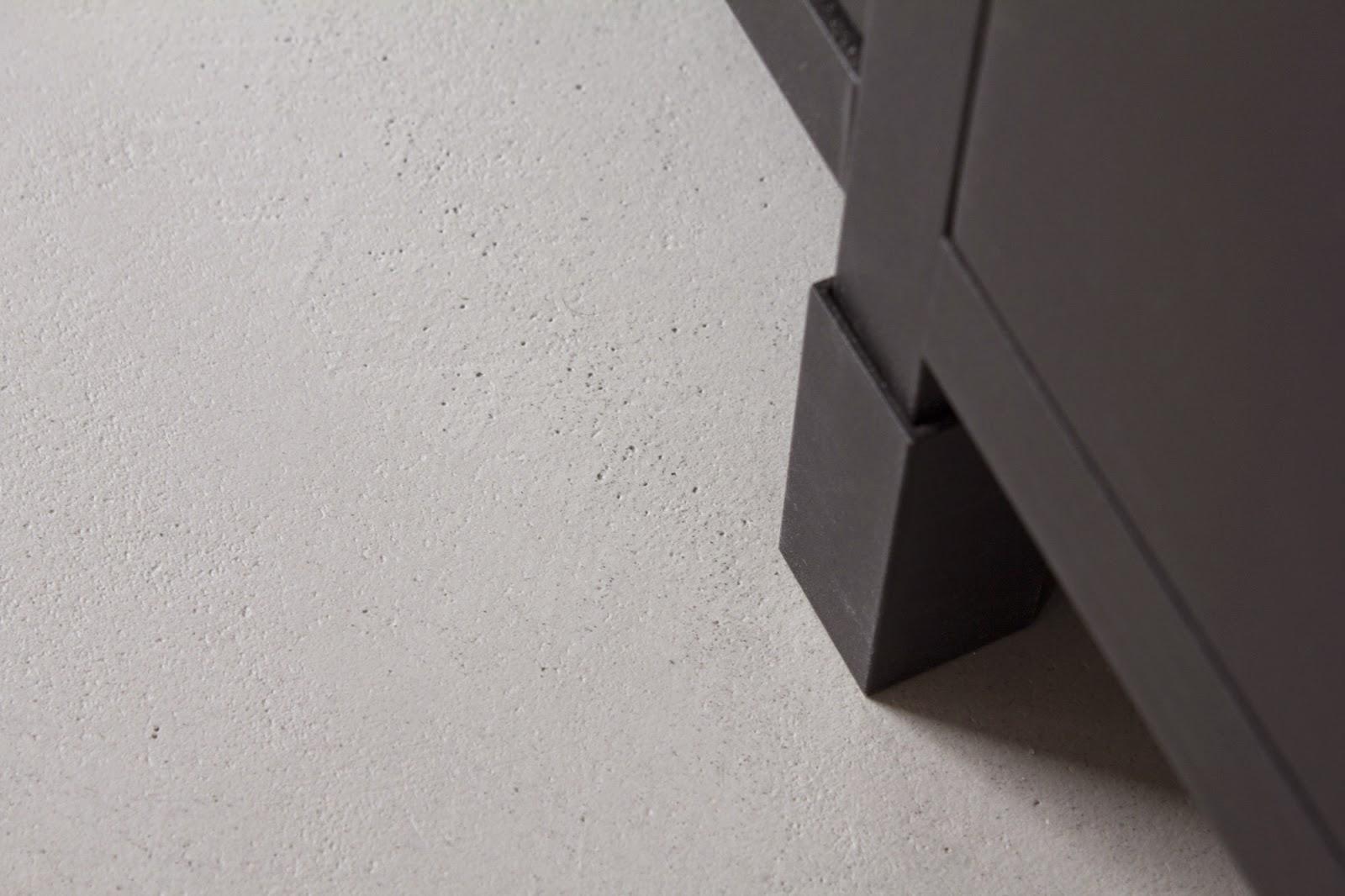 Designbetonin betonilattia