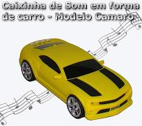 Carrinho Toca Musica, Com Entrada Usb E Cartão