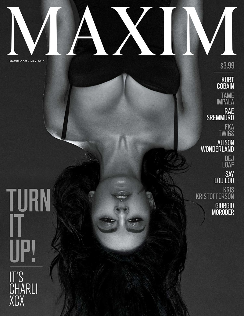 Charli XCX is sensual and seductive for Maxim's May 2015 issue