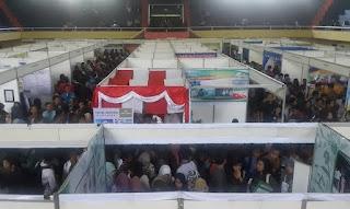 Banyuwangi job market fair 2015.