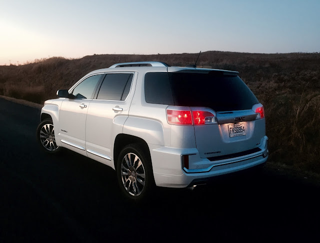 2016 GMC Terrain Denali white rear