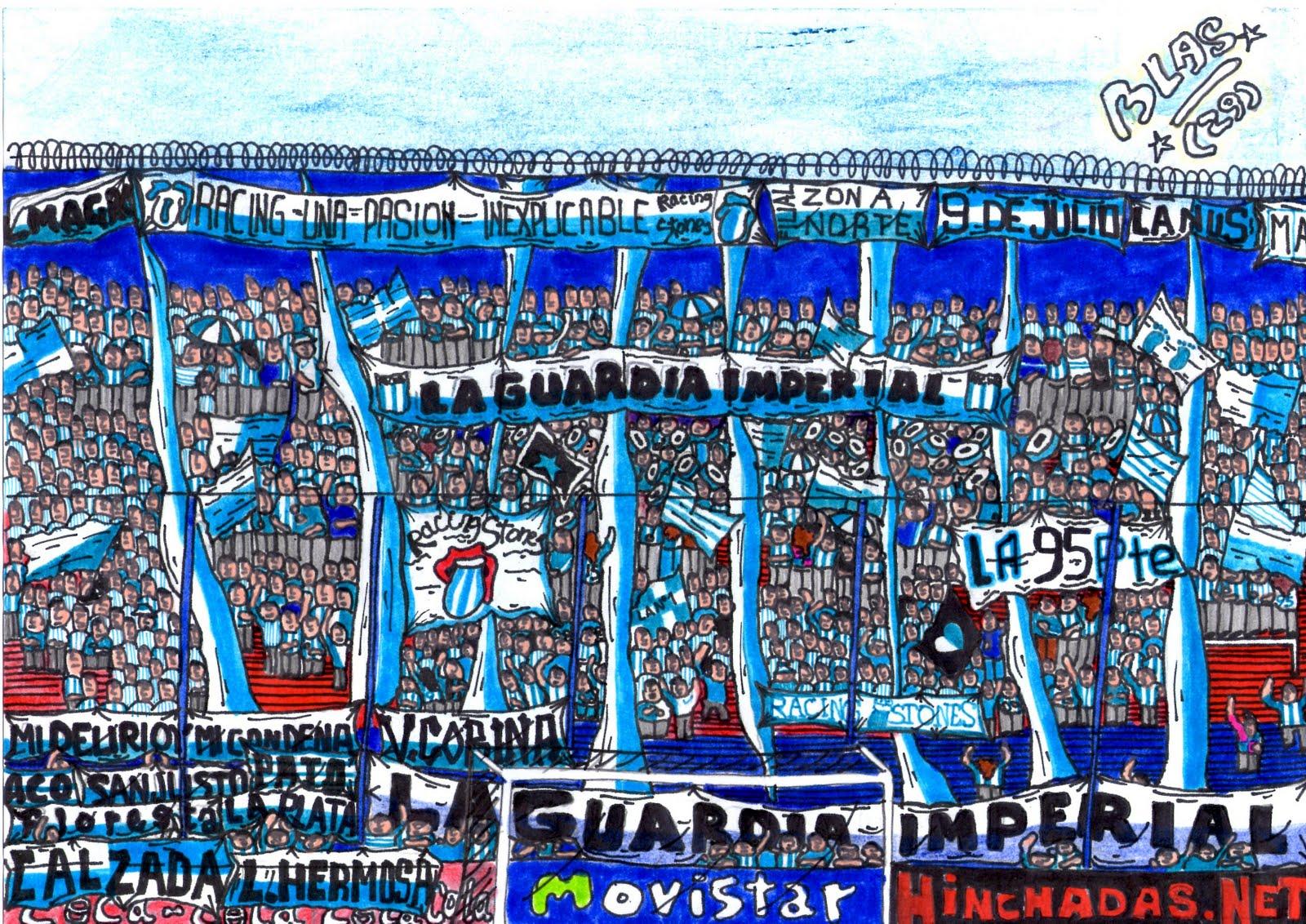 Algunos Dibujos de Las Barras Bravas Argentinas