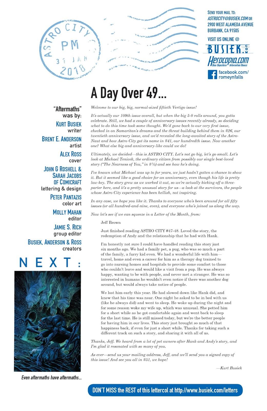 Read online Astro City comic -  Issue #50 - 26