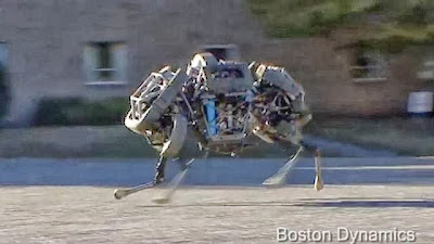 بالفيديو.. قط آليّ متوحش يركض بسرعة 25 كيلومترا في الساعة  - electronic cat boston dynamics