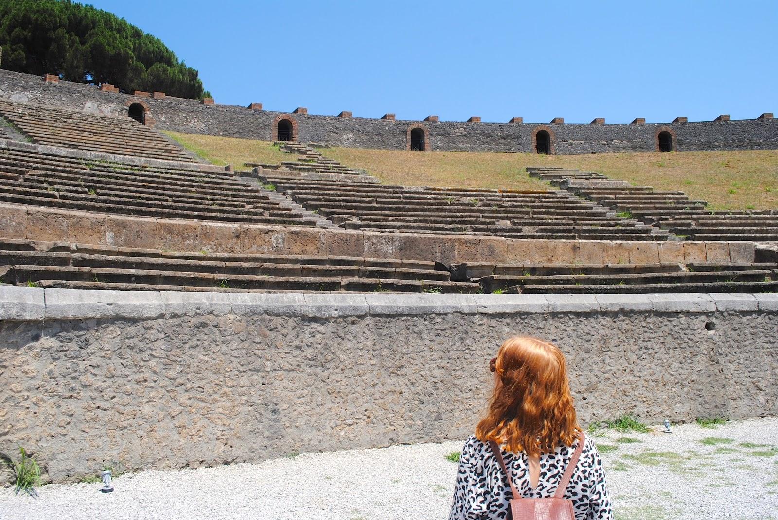 Amphitheater in Pompei Italy