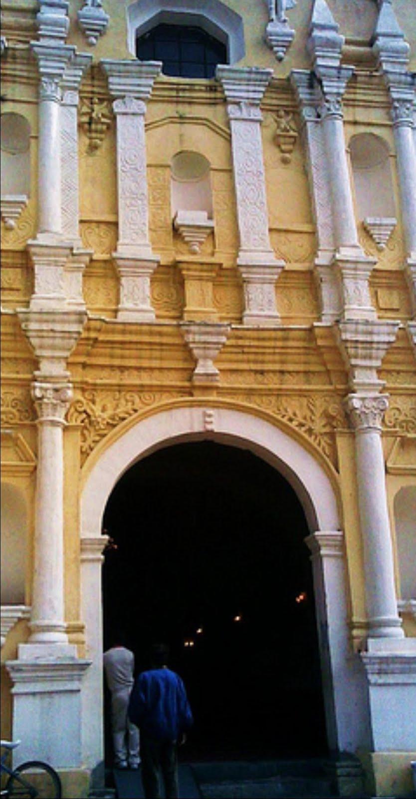 El convento agustino de Ayotzingo