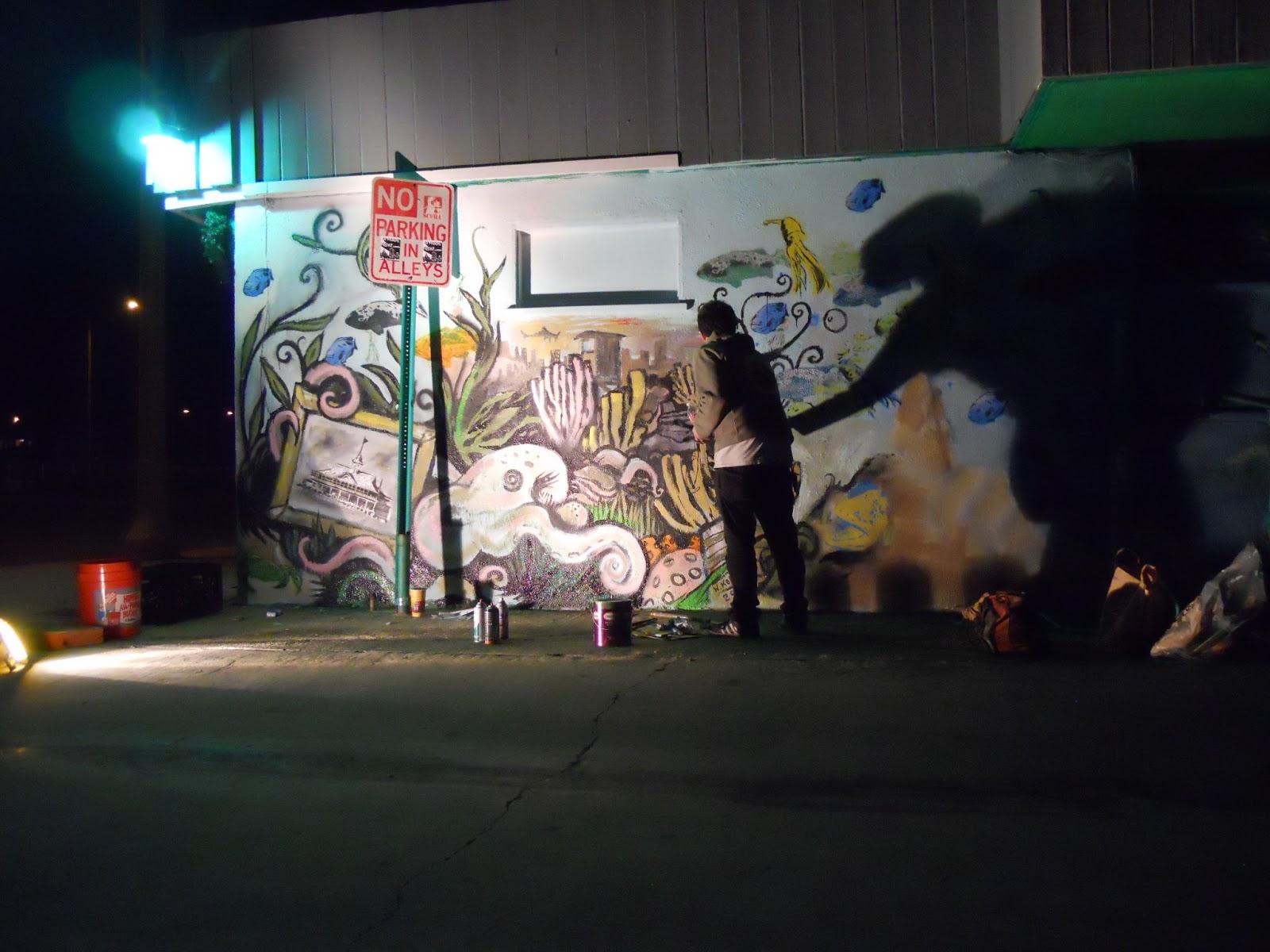 Frog House Newport Beach Part - 25: Will Koffman Painting At The Frog House, Newport Beach, CA