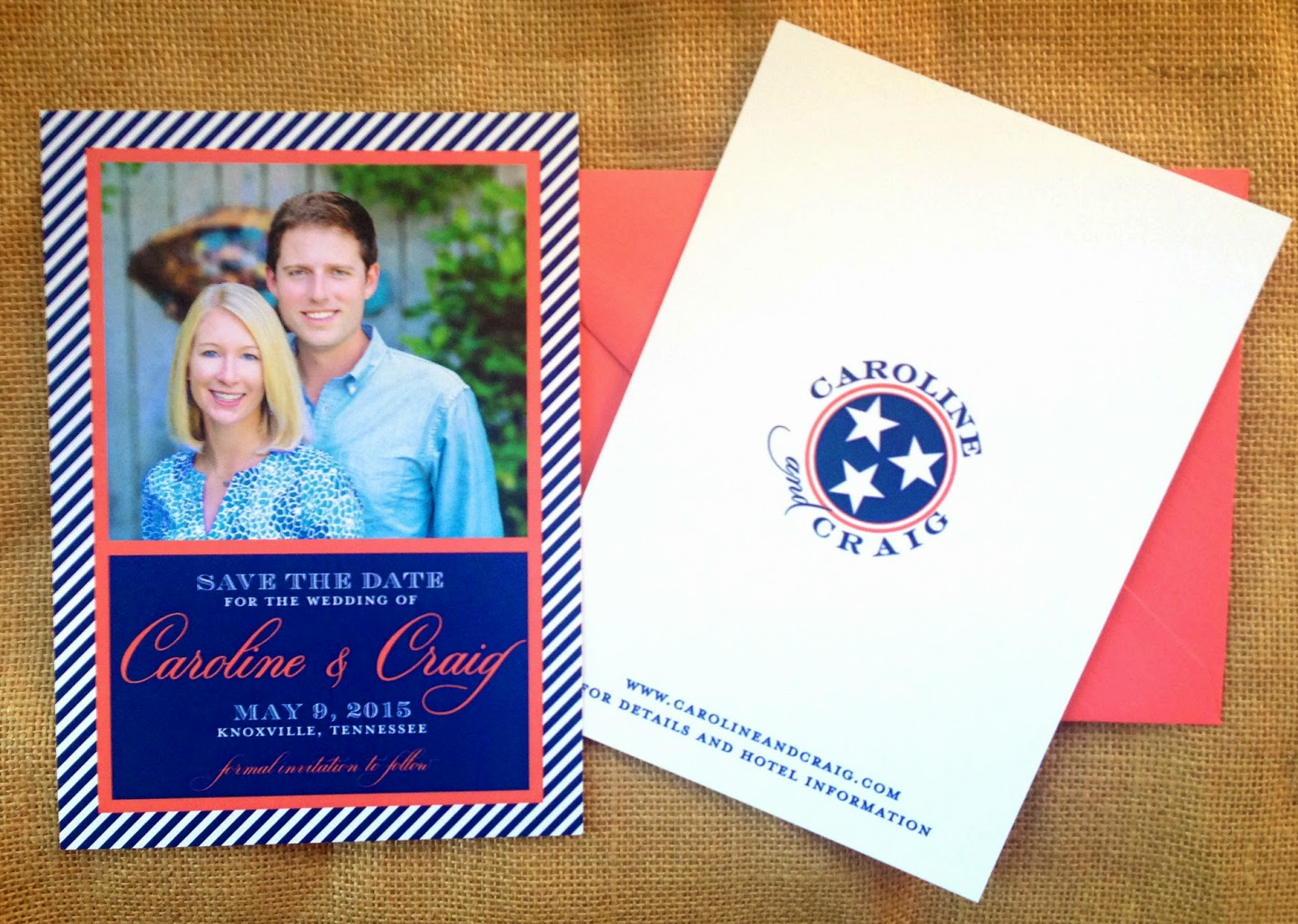 Southern Wedding Save the Date