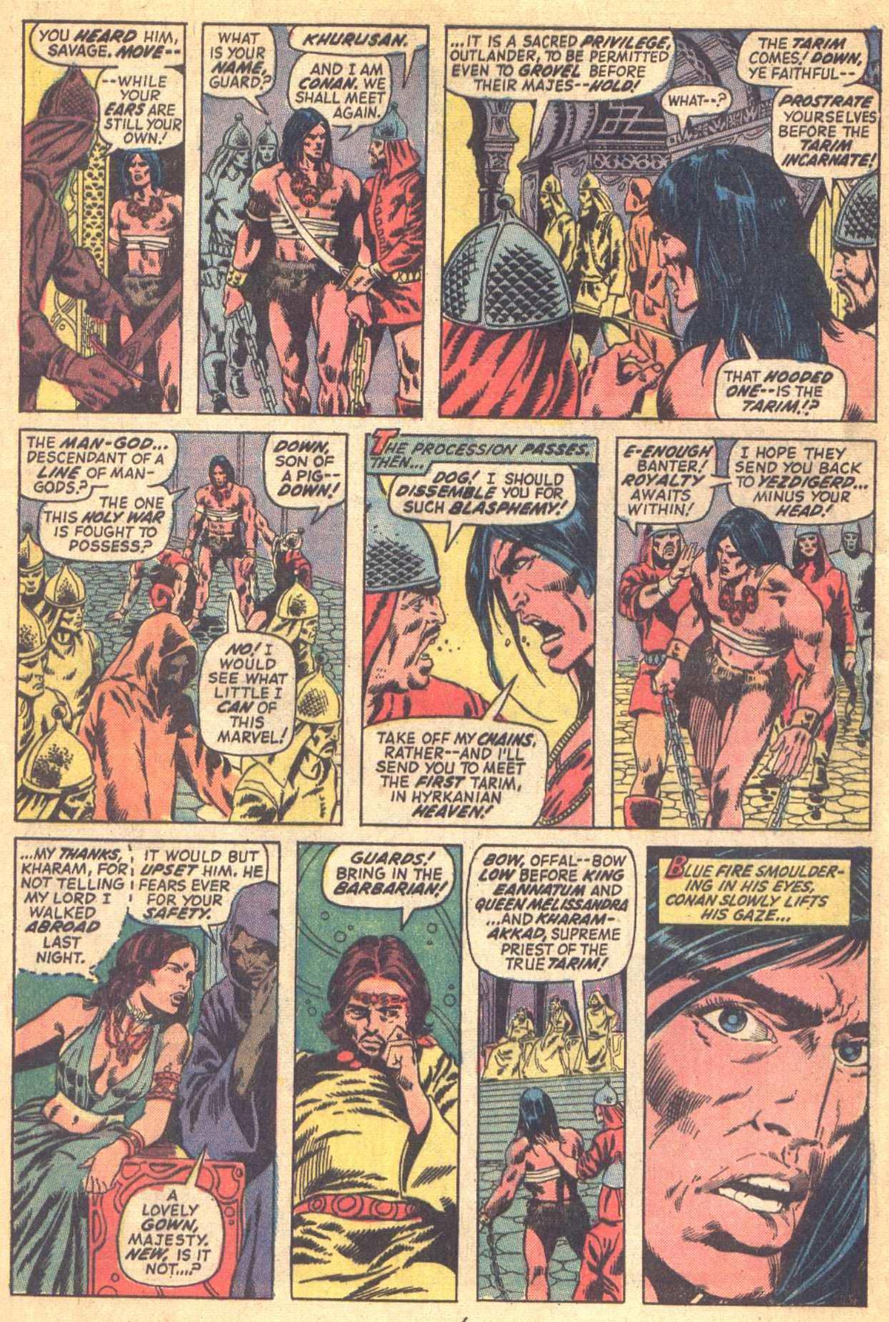 Conan the Barbarian (1970) Issue #21 #33 - English 6