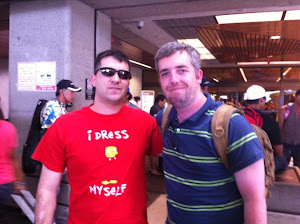 Troy and Garrett at HNL 2012