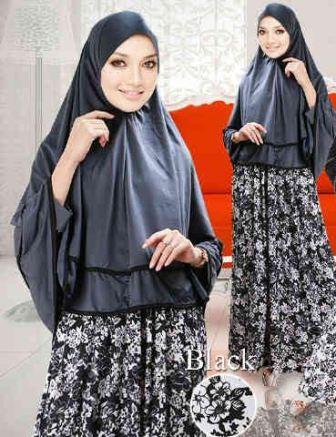 Baju Gamis Busana Muslim Trend Lebaran 2015 Terbaru Model