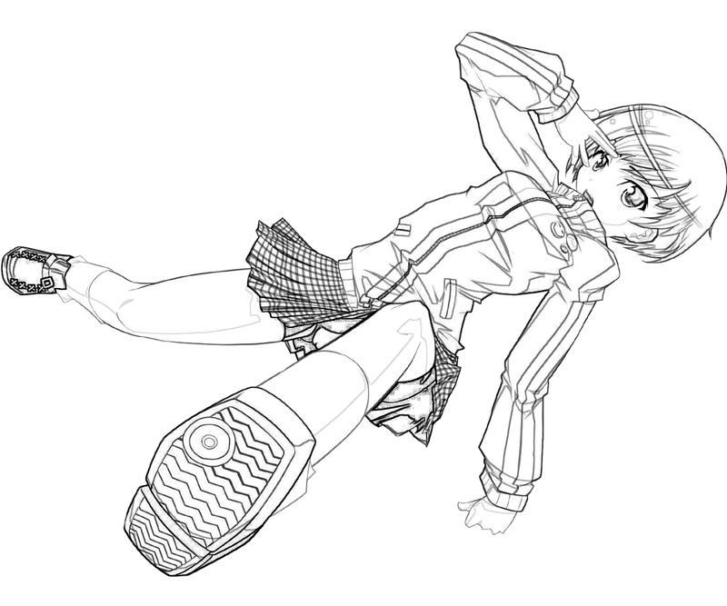 printable-persona-4-arena-chie-satonaka-characters_coloring-pages
