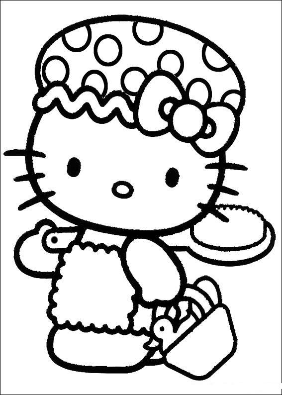 Hello Kitty Zoo Coloring Pages : Hello kitty coloring pages learn to