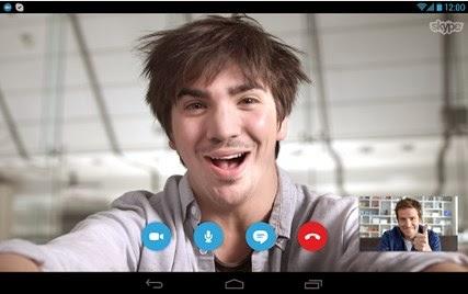 aplikasi skype untuk android