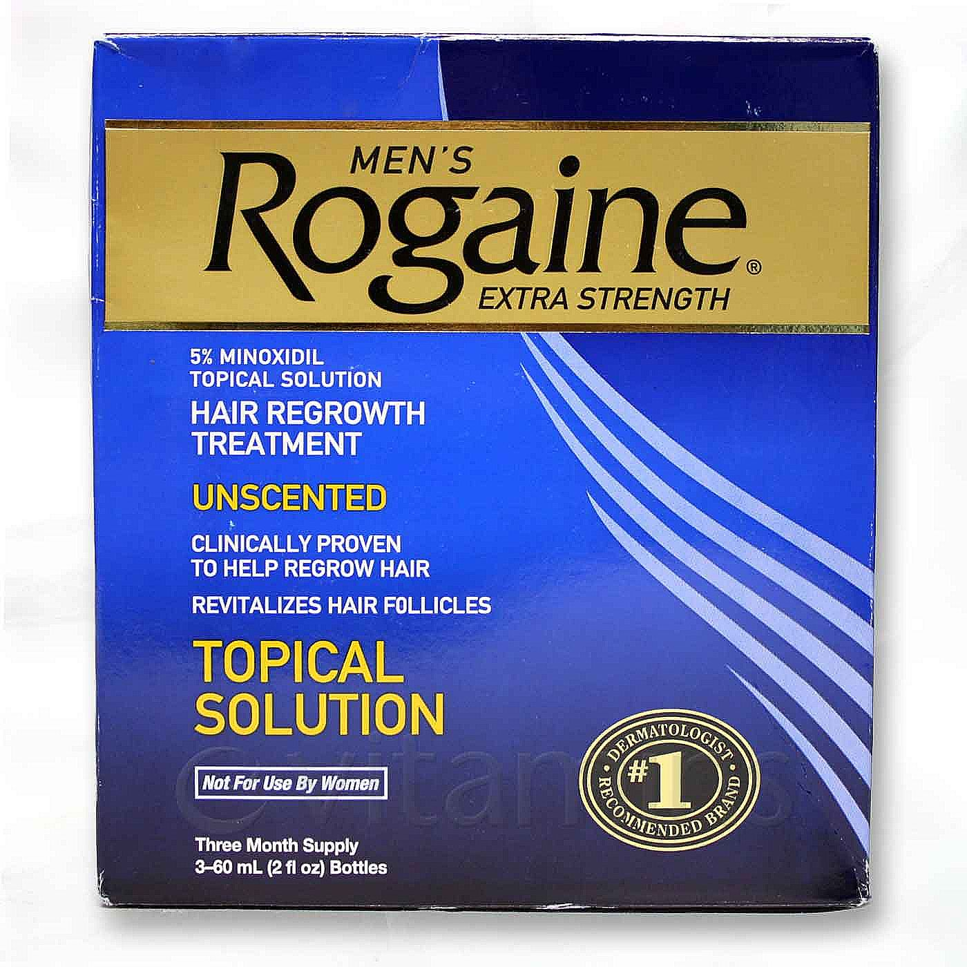 How to apply rogaine drops