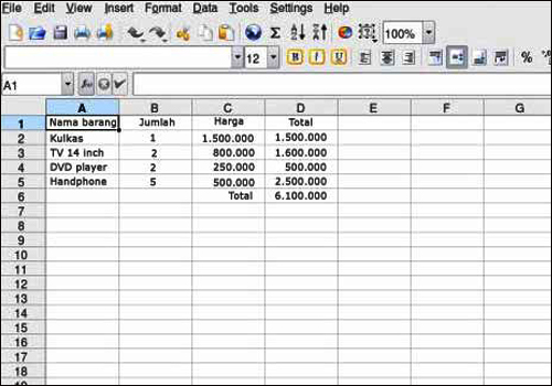 my blog  perangkat lunak pengolah angka