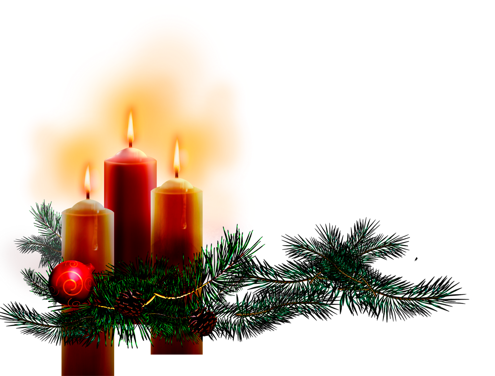 Blog cat lico navide o im genes de velas de navidad - Bougie de noel ...