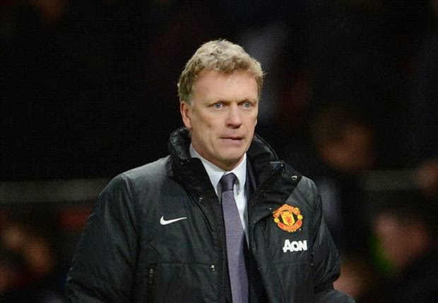 David Moyes Manchester United 2014