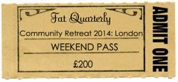 Fat Quarterly Retreat Tickets Now On Sale