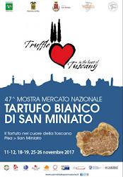 Per a 47^ edizione della Mostra Mercato del Tartufo Bianco di San Miniato il C.R.A. Centro Raccolta