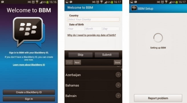 Blackberry Messenger [BBM] For Gingerbread