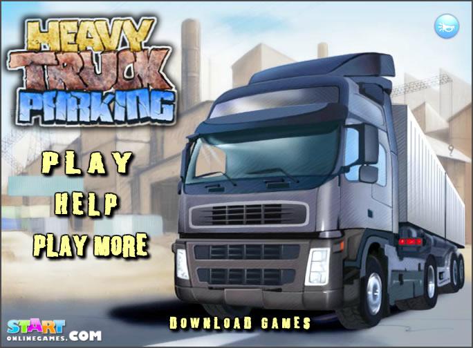Truck Game : Heavy Truck Parking 2