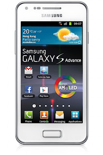 Samsung Galaxy S Advance as a premium mid-range smartphone