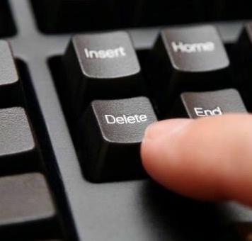 Delete Blogger Blog