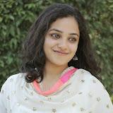 Nitya meenon Latest Photo Gallery in Salwar Kameez at New Movie Opening 4