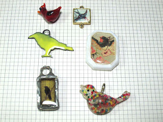 Bird Charm lot