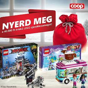 NYERJ 40 000Ft ÉRTÉKŰ LEGO ajándékcsomagot!