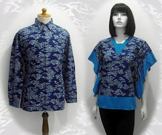blus batik wanita
