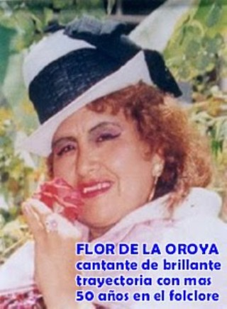 FLOR DE LA OROYA
