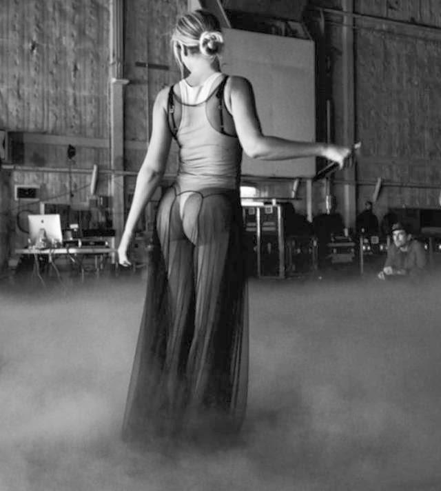 Imágenes del ensayo de Beyonce antes del Grammy