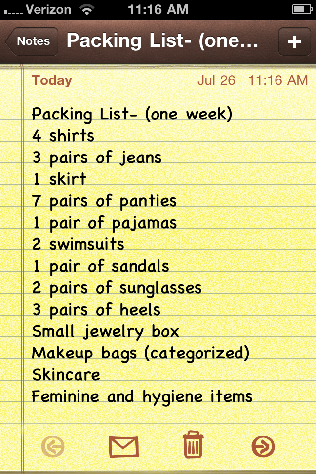 Vacation Packing Checklist | Vacation Packing Tips Rachel Talbott