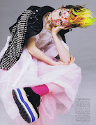 poor little punk girl: mia wasikowska by inez van lamsweerde & vinoodh .