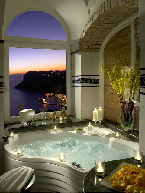 Vista hotel baño