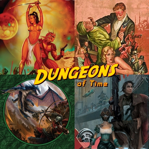 Soccerdog dungeons of time savage worlds for Bureau 13 savage worlds