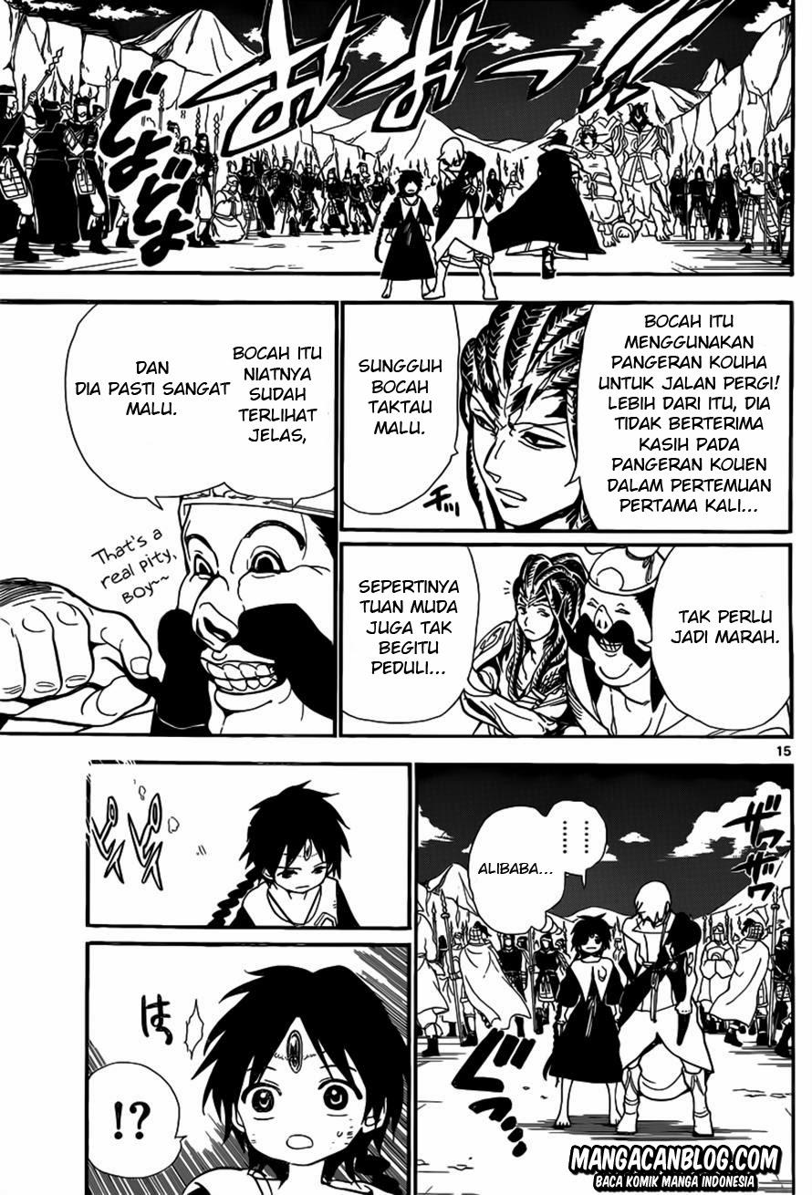 Dilarang COPAS - situs resmi www.mangacanblog.com - Komik magi 186 - kouen dan alibaba 187 Indonesia magi 186 - kouen dan alibaba Terbaru 14|Baca Manga Komik Indonesia|Mangacan